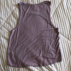 Fabletics Tops - Purple fabletics tank top